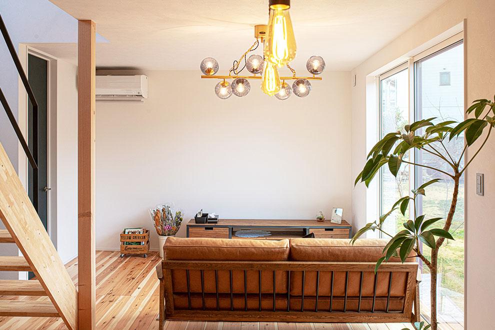 一年中快適なダブル断熱の家
